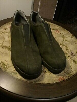 a182081fac5 Mephisto Air Relax Green Suede Loafers Walking Shoes Women s Sz EU 6.5   US  9M