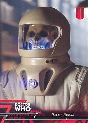 Doctor Who Extraterrestrial Encounters Red Parallel Card 37 Vashta Nerada 06/25