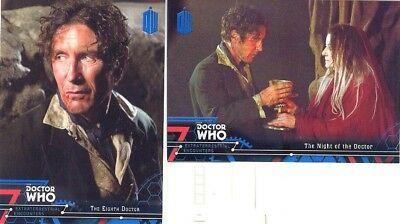 Doctor Who Extraterrestrial Encounters Blue Parallel 2 Matching Number Lot 89/99