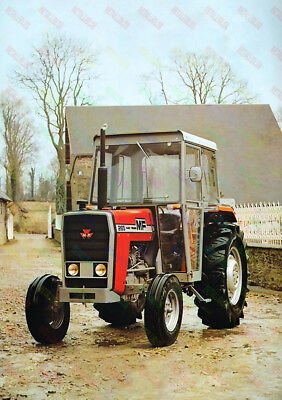 Massey Ferguson 265 Tractor Poster (A3) - (3 for 2 offer)