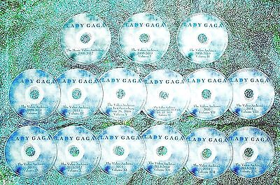Pin & FREE LADY GAGA Video Archives & Music Videos 2009-2019 17 DVD Set Shallow