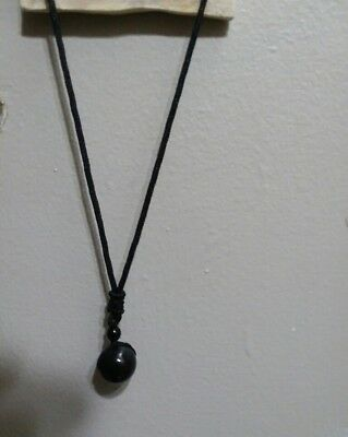 Haunted 100% Witch Owned Obsidian Necklace Vessel/Cambion Succubus Hybrid Spirit