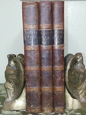 The History of the War with Russia- Henry Tyrrell -C.1856-1860- 3 vol's complete