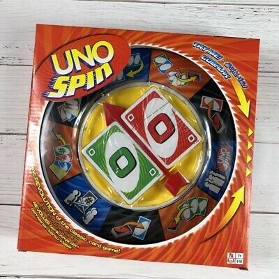 UNO SPIN Revolution Kid Adult Educational Toy Hot Fun Party Fun Board Game