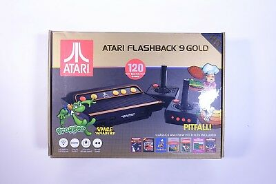 Atari Flashback 9 Gold HD Retro Gaming Console - 120 Games - Two Controllers