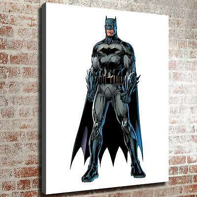"12""x16""Batman dc comic Photos HD Canvas print Painting Home decor Room Wall art"