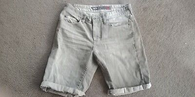 Missomo Boys/mens denim Grey Shorts sz 30