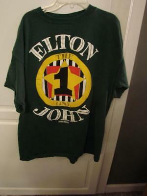 Elton John The One Tour Shirt Size X-Large Styled By Gianni Versace
