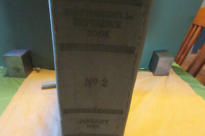 Antique 1956 Reference Book of Dun & Bradstreet: Merchants Manufacturers Traders