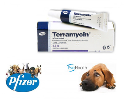 Terramycin Ophthalmic Eye Ointment, 1/8-ounce (3.5 grams) *US SELLER* 1-Day Ship