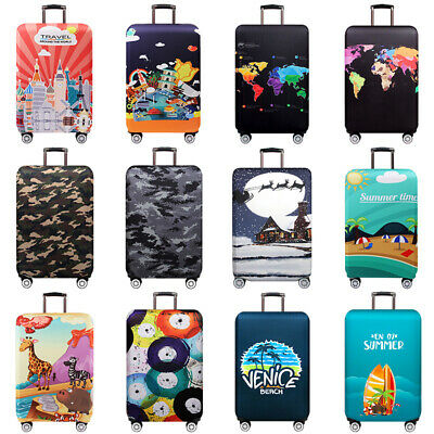 "Protective Travel Luggage Cover Suitcase Protector Elastic Skin Cover 18"" -32"""