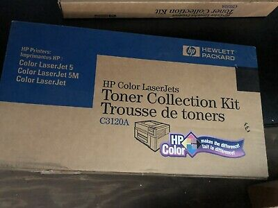 Hewlett Packard Color Laser Jets Tonor Collection Kit C3120A