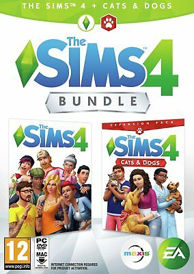 The Sims 4 with Cats and Dogs Expansion PC Game 12+ Years
