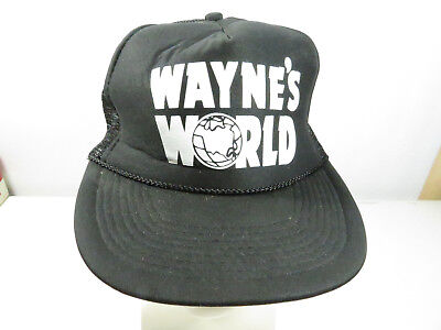 7190703884f Wayne s World Movie Party On Garth Costume Snapback Trucker Hat Baseball Cap