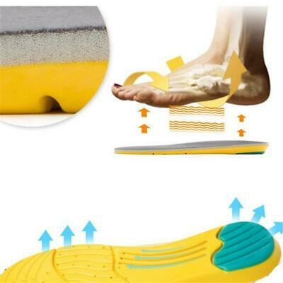 Memory Foam Insoles Inner Running Sole Slippers Shoe-pad Foot Pad Unisex SS3
