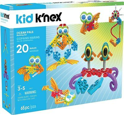 NEW Kid K'Nex Ocean Pals Building Set from Purple Turtle Toys