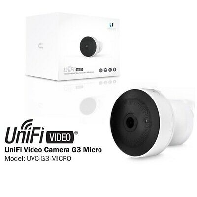 Ubiquiti UVC-G3-Micro UniFi Video G3-MICRO Cam Micro 1080p Full HD Camera