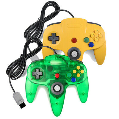 Classic Gaming Wired Controller Gamepad Joystick for Nintendo N64 Console AU