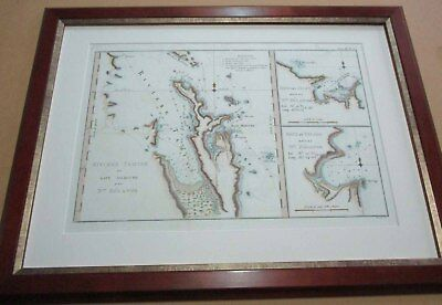 New Zealand. map. Mercury Bay. 1774