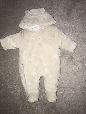 Mothercare Hello Little One Pramsuit (size Up To 1 Month)