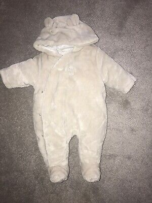 Mothercare Hello Little One Pramsuit