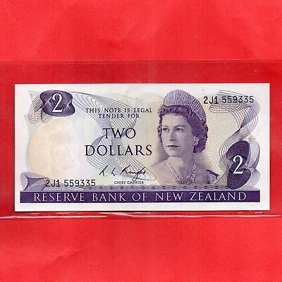 1975 - 77 R. L. Knight Paper $2 Two Dollar 1st Signature Type Banknote.