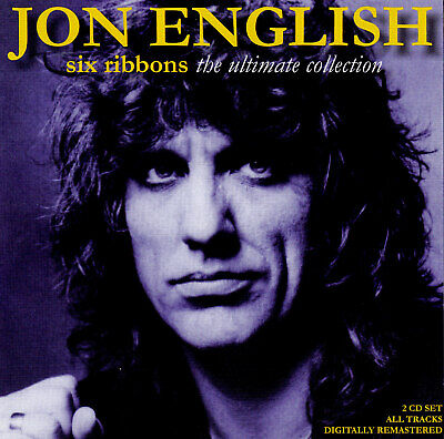 JON ENGLISH / SIX RIBBONS - THE ULTIMATE COLLECTION - 2 CD SET - new -not sealed
