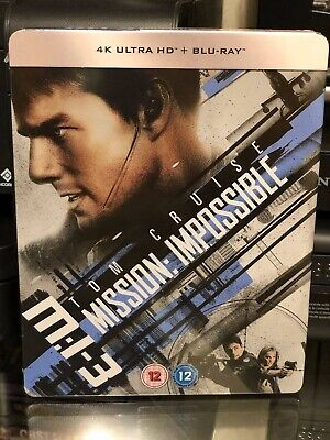 Mission Impossible III - 4K Ultra HD / BLU-RAY- Limited Edition Steelbook! NEW!