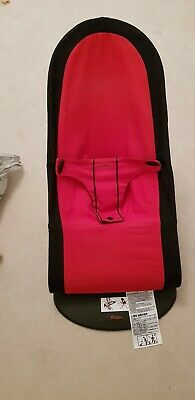 Baby Bjorn Babysitter Balance Bouncer Chair Black And Red