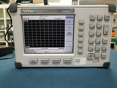 Anritsu_S331D opt 003 : Site Master - Main body and adapter