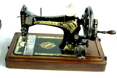 Antique Singer 28K Hand Crank Sewing Machine c1907 - FREE Shipping [PL4937]