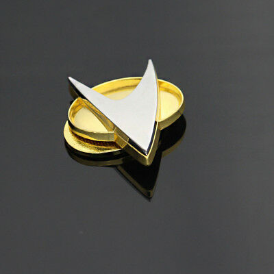 US! Star Trek The Next Generation Communicator Magnetic Captain Badge Replica