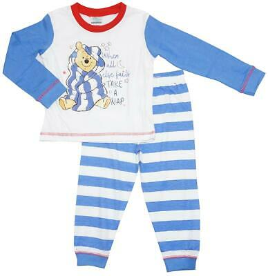 Boys Baby Disney Winnie the Pooh Take a Nap Cotton Pyjamas 6 to 24 Months