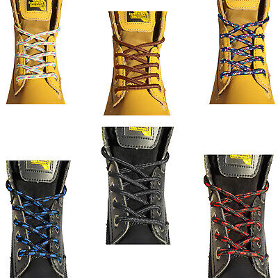 Grafters Strong Shoelaces Boot Laces  For Mens & Womens Work Boots Hiking Boots