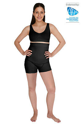 NEW SRC RECOVERY MINI SHORTS BLACK for Post Pregnancy - All Sizes