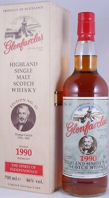 Glenfarclas 1990 26 Years Limited Edition No. 21 Thomas Carlyle Whisky 46,0%
