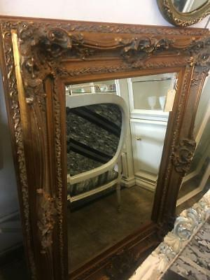 Gold Rococo  Carved French Louis Xv Mirror Huge 3 Day Mirror Sale..at Cost