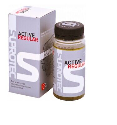 "SUPROTEC  ""ACTIVE REGULAR"" Additive for protection against wear of all engines"
