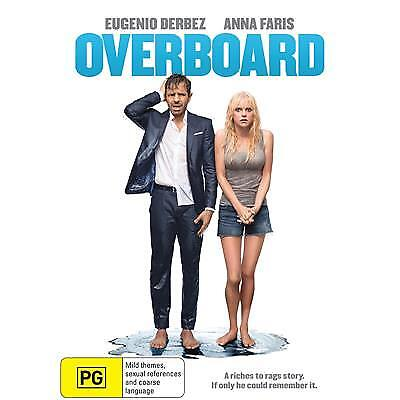 Overboard Dvd, New & Sealed, 2018 Release, Region 4, Free Post