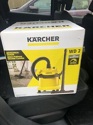 Karcher WD2 Wet And Dry Vacuum Cleaner - NEW 240V