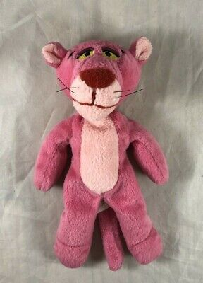 """Pink Panther Vintage 1996 United Artists Pictures Inc MGM 8"""" Plush Toy with Tag"""