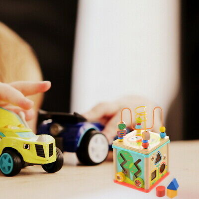 Children Kids Baby Colorful Wooden Toys Mini Around Beads Educational Toys LOVE