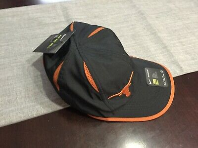 cf262a98283 MENS WOMENS Nike TEXAS LONGHORNS Hat FEATHERLIGHT Adjustable BLACK COPPER  NWT