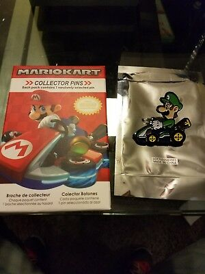 Nintendo Super Mario Kart Collector Pins Series 2 - Luigi