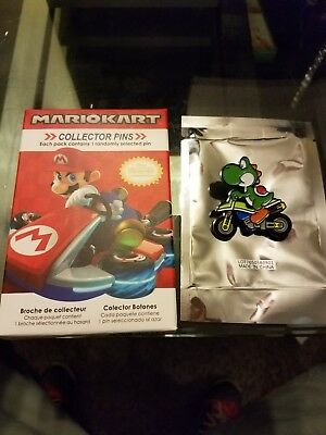 Nintendo Super Mario Kart Collector Pins Series 2 - Yoshi
