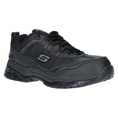 Skechers Soft Stride Mens Safety Shoes Composite Toe Memory Foam Work Trainers