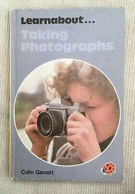 Vintage Ladybird Learnabout...Taking Photographs Book Series 654 VGC Matt Board.