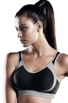 85c3ed151c8dc NWT Anita Active Wire Free Maximum Support Extreme Control Sports Bra 5527  Blk