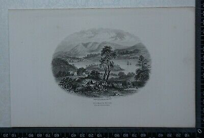 c1875 - Eshwaite Water from the Ulverstone Road - Lake District