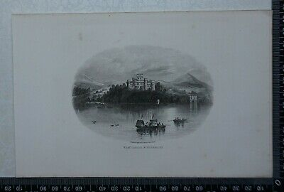 c1875 - Wray Castle, Windermere - Lake District